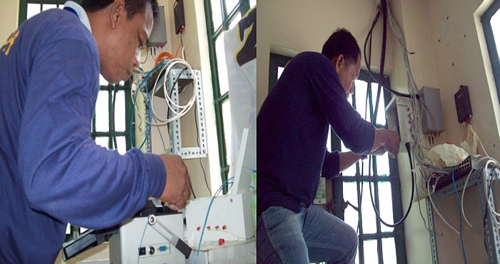Splicing & Termination at Luzon Hydro Ilocos Sur
